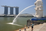 Merlion a Marina Bay Sands